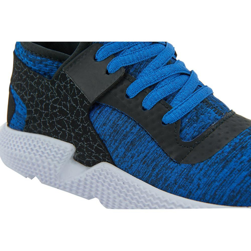 Deportivo Color Block Azul Y Negro 014651