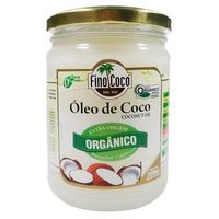 Oleo de Coco Extra Virgem Organico - 500ml - Finococo