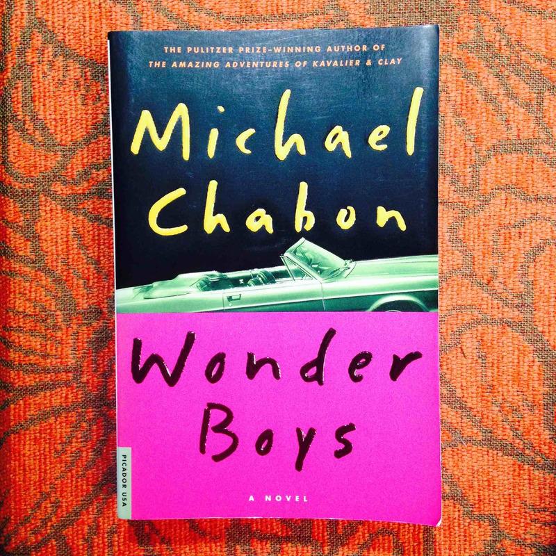Michael Chabon.  WONDER BOYS.