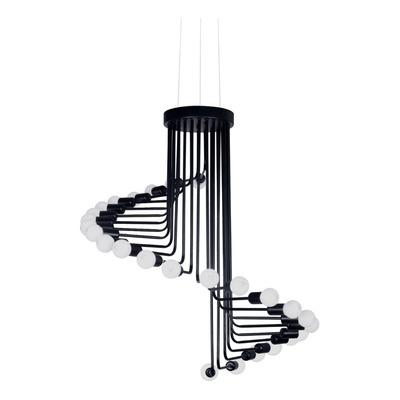 Colgante Araña Industrial 26 Luces Regulable Deco Vivlio Lk