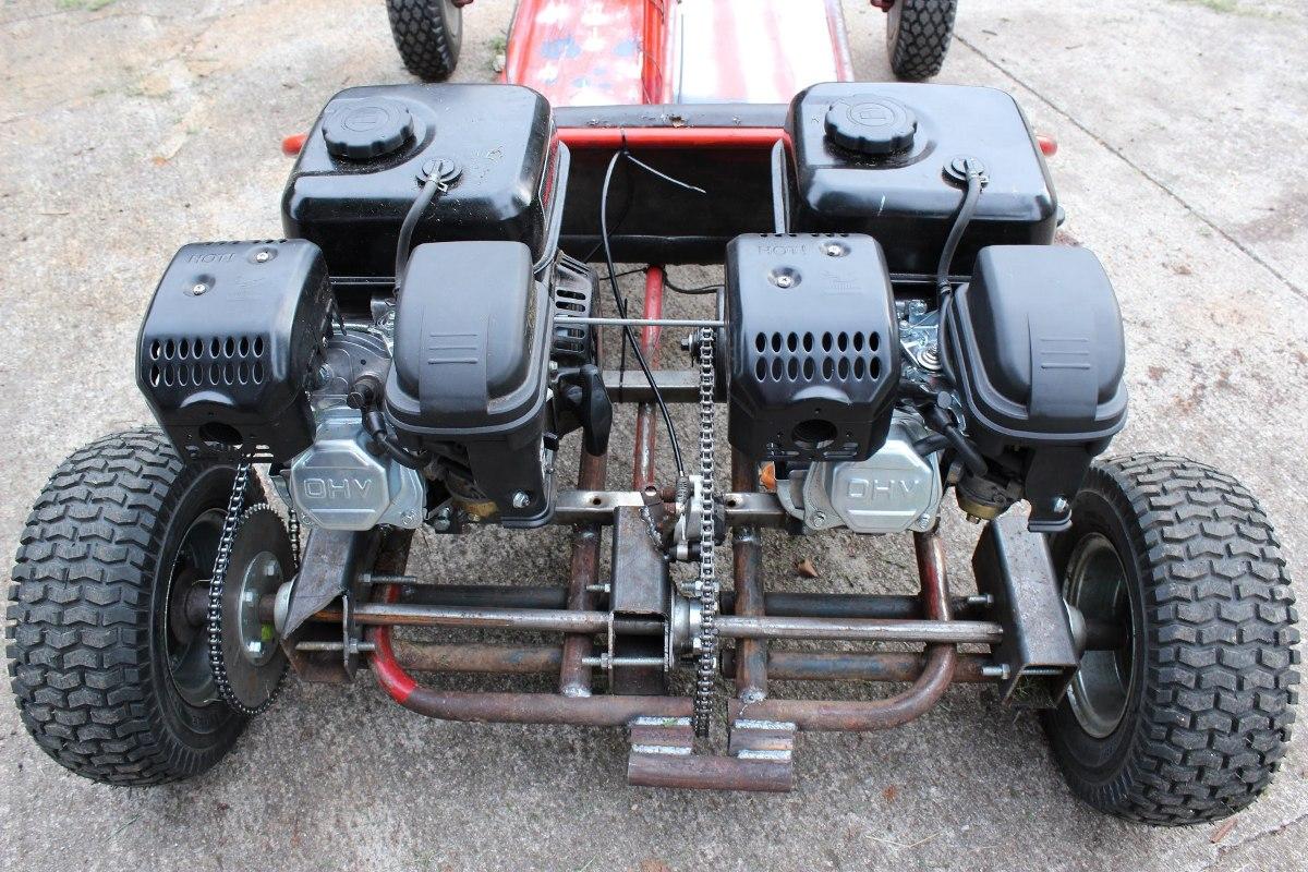 Motor A Explosion Horizontal 13 Hp 389cc Karting Gamma
