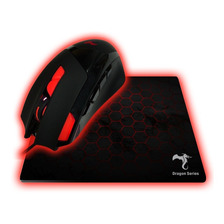 Combo Kit Mouse + Pad Kolke Scorpion Kgk-251 Gamer Luz Led