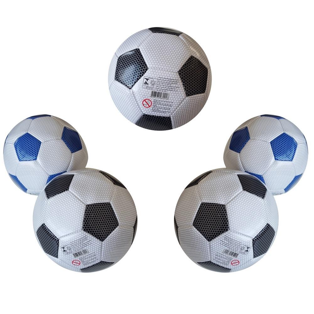 86d373edfd ... Kit 5 Bolas de Futebol Campo   Quadra Tradicional N5 ...