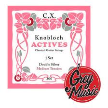 Encordado Knobloch 300cx Para Guitarra Clasica Medium Carbon