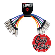 Kirlin Mp6-480-3ft Ca/ca (x6 Unid Colores) 20awg Inst Cable