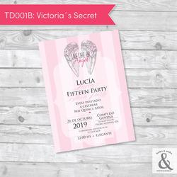 Invitación digital TD001B (Vic...