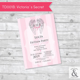Invitación digital TD001B (Victoria's Secret)