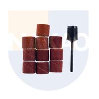 Conjunto de lixas cilíndricas 10 X 10 mm com suporte - Proxxon - 28980