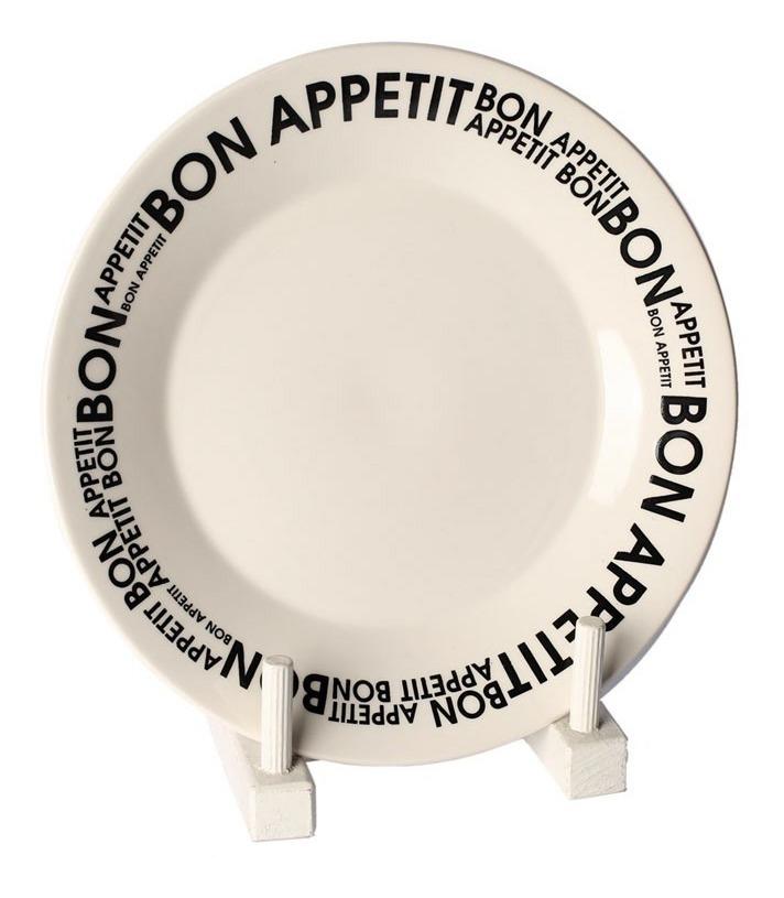 Set 6 Platos Playos + 6 Platos Hondos Bon Appetit Biona Deco