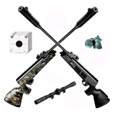 Rifle Aire Comprimido Fox Nitro Compact Piston Mira Cuotas