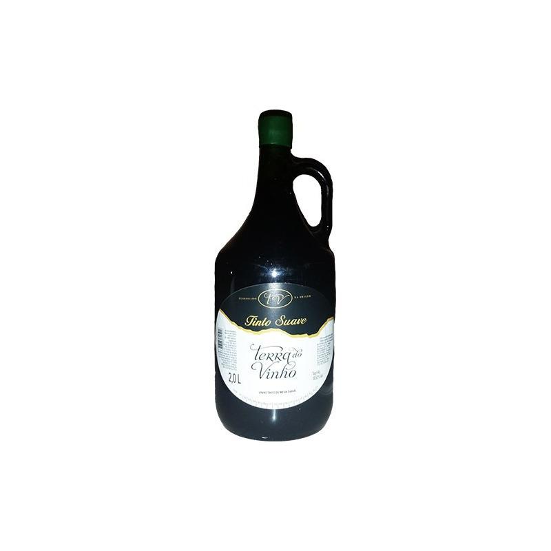 Vinho Tinto Suave Izabel/Bordô 2 L - Adega Terra do Vinho