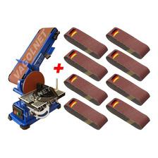 Combo Carpinteria Lijadora Banco Kld 375w + 8 Lijas P/madera