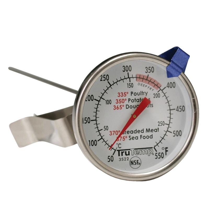 Termometro Para Freir Alimentos Con Clip 50 285?C Taylor 1502103