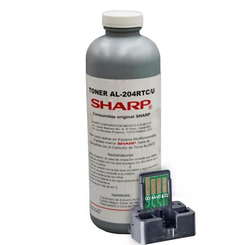 Toner y Chip SHARP Original AL 2031 2041 2051