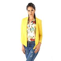 Saco amarillo pastel 014517