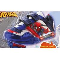 Sneakers Spiderman marino con luces T05632