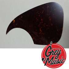 Pickguard De Guitarra Acústica Sambong M21 Color Carey