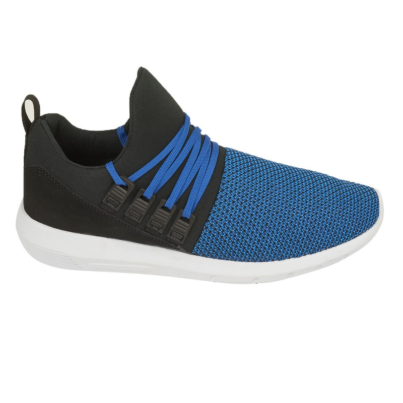 Deportivos azules con gris 018630
