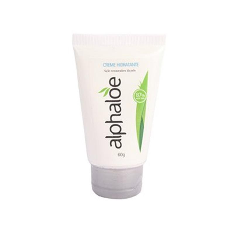Creme Hidratante - 87% de Aloe Vera - 60g Alphaloe