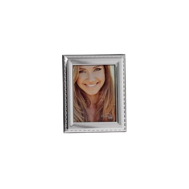 Porta Retrato Metal Brilhante/Mdf 20X25Cm