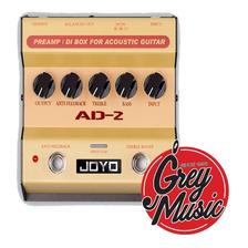 Pedal Joyo Para Guitarra Acústica  Preamp Y Caja Directa Ad2