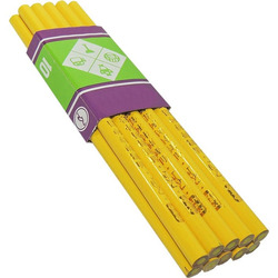 Lápis Giz Amarelo Econôm...