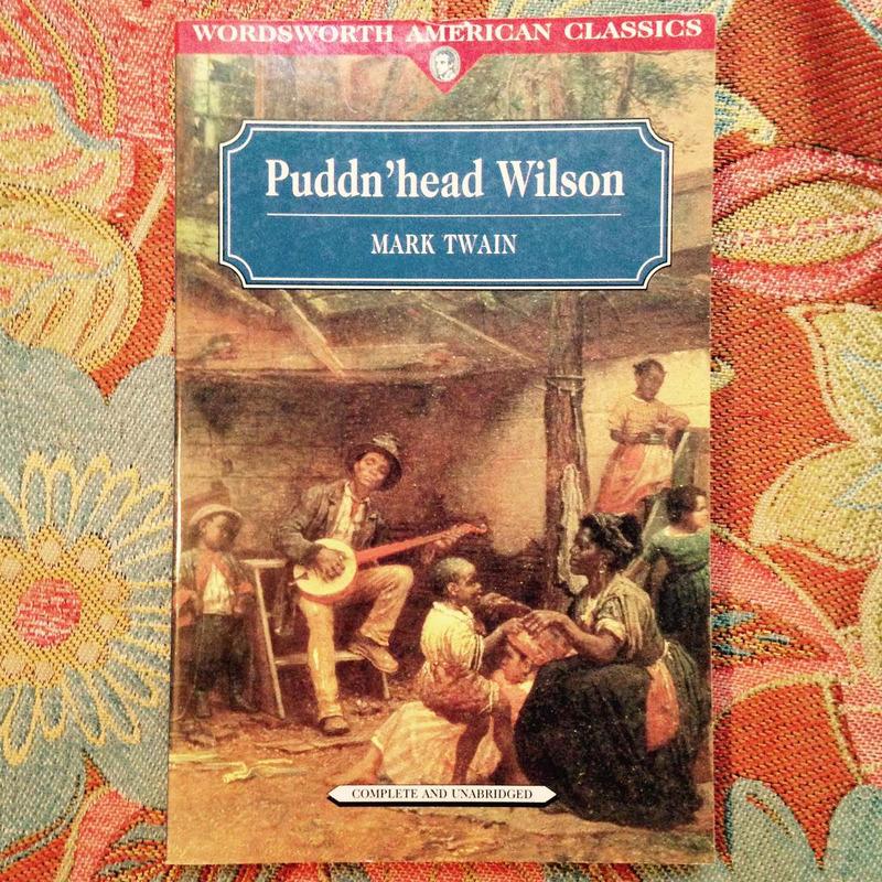 Mark Twain.  PUDDN'HEAD WILSON.