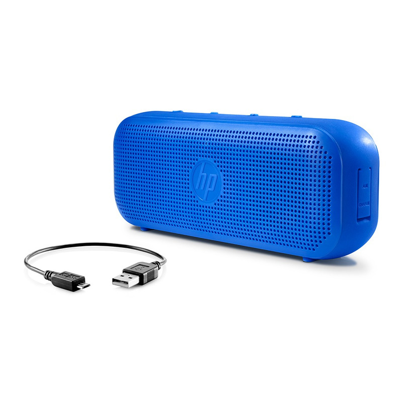 CAIXA DE SOM SPEAKER BLUETOOTH HP S400 AZUL