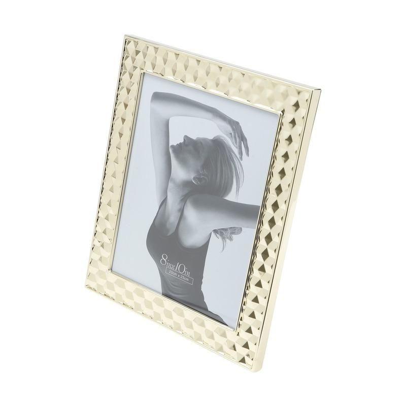 Porta Retrato de Aco Dourado 20X25Cm 31027060