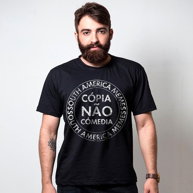 CAMISETA PRETA - CÓPIA NÃO COMÉDIA