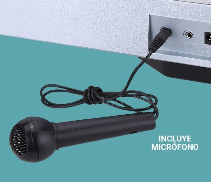 Organo Teclado Electronico 54 Teclas Con Microfono Gadnic