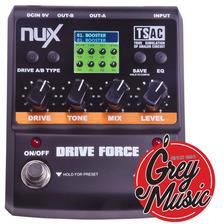 Pedal Nux Drive Force 10 Distorsiones