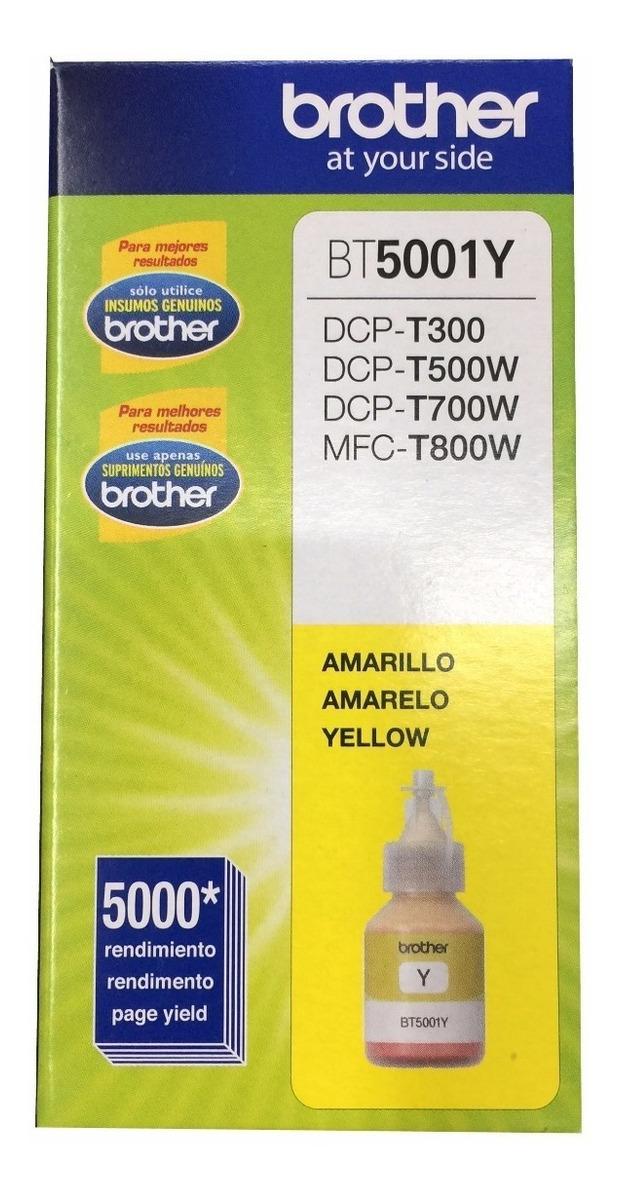 Tinta Brother Bt5001 Original Dcp T300 Dcp T500w Colores C/u
