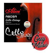 Encordado Alice A805a De Cello 4/4 Cuerdas Acero Nickel