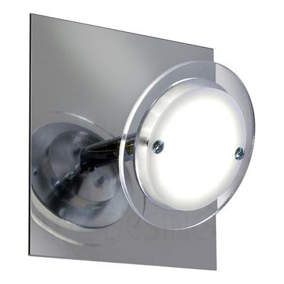 Aplique 1 Luz Onix Led 7w Moderno Deco Luz Desing