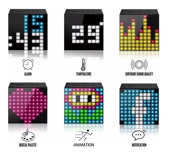 Parlante Bluetooth Portátil Mini Divoom Timebox Ctas Oferta!