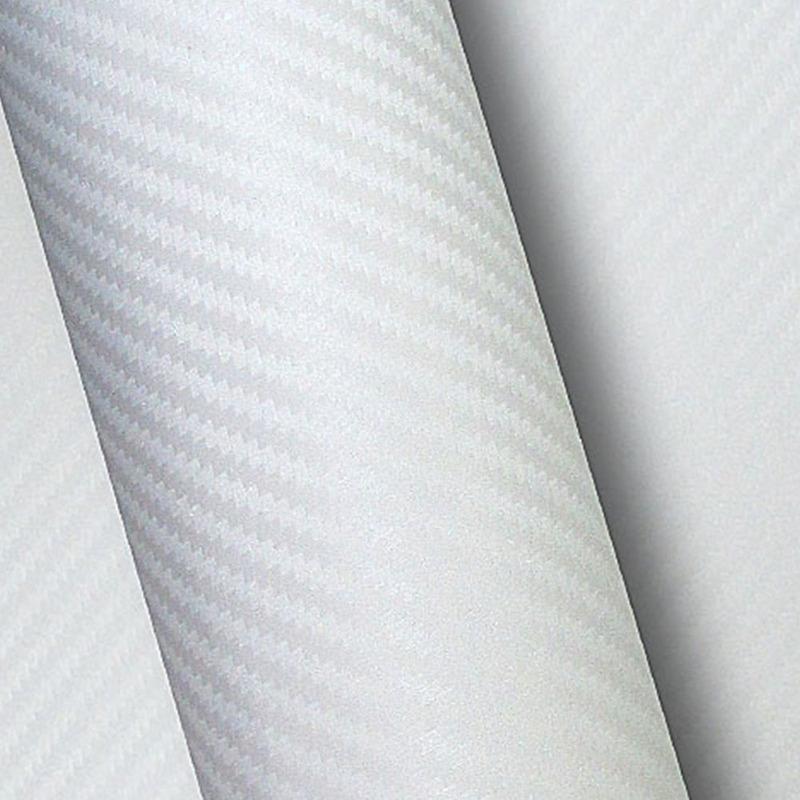 Vinil adesivo fibra de carbono branco (carbonium) larg.1,38 m
