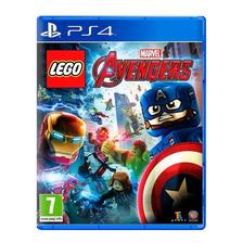 Lego Marvel Avengers Vengadores Ps4 Fisico Sellado Nuevo