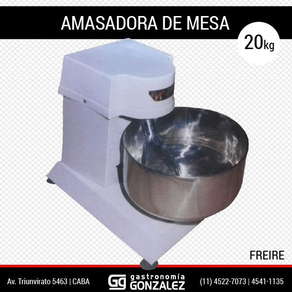 Amasadora de mesa 20 Kg, Freire
