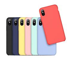 Funda Silicona Suave Iphone 6 6s 7 8 Plus X 10 + Glass 5d