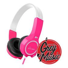 Auriculares Mee Audio Para Niñas De 4 A 12 Años Kj25-pk Rosa