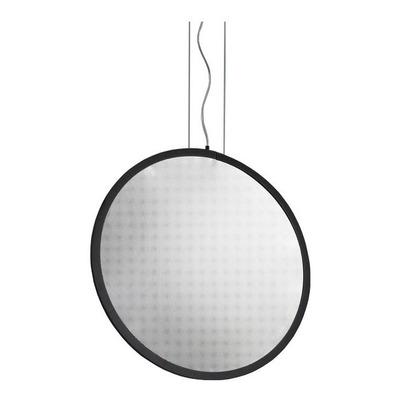 Lampara Colgante Aro Plate Tapa Acrilica 20w Led Moderno Gmg