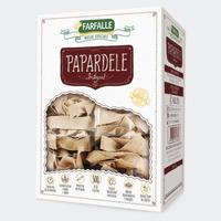 Papardele Integral Grano Durum com Ovos - 500g Farfalle
