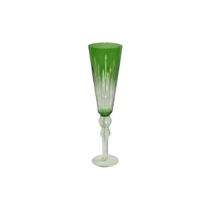 Taça Vidro Champanhe 200Ml Verde-L´hermitage 7522699