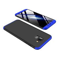 Funda Luxury 3 En 1 Rigida Samsung J8 J6 2018 Antideslizante