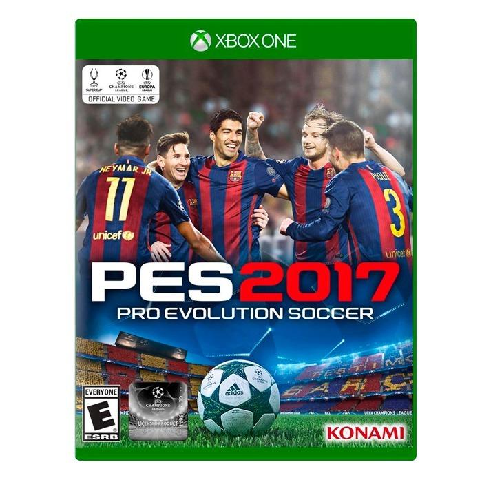 Pes 2017 Xbox One Fisico Sellado Original Nuevo