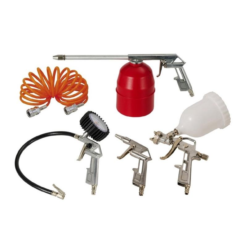 Kit Acessórios para Compressor de Ar com 5 Peças - 809.1039-0 - Schulz