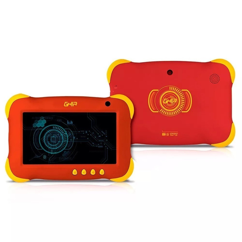Tablet Ghia Axis Kids Gtkids7r Android 7 8Gb Roja