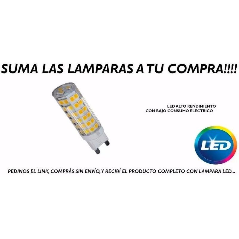 Aplique 2 Luces Cobre Cabezal Movil Apto Led Luz Desing Mks