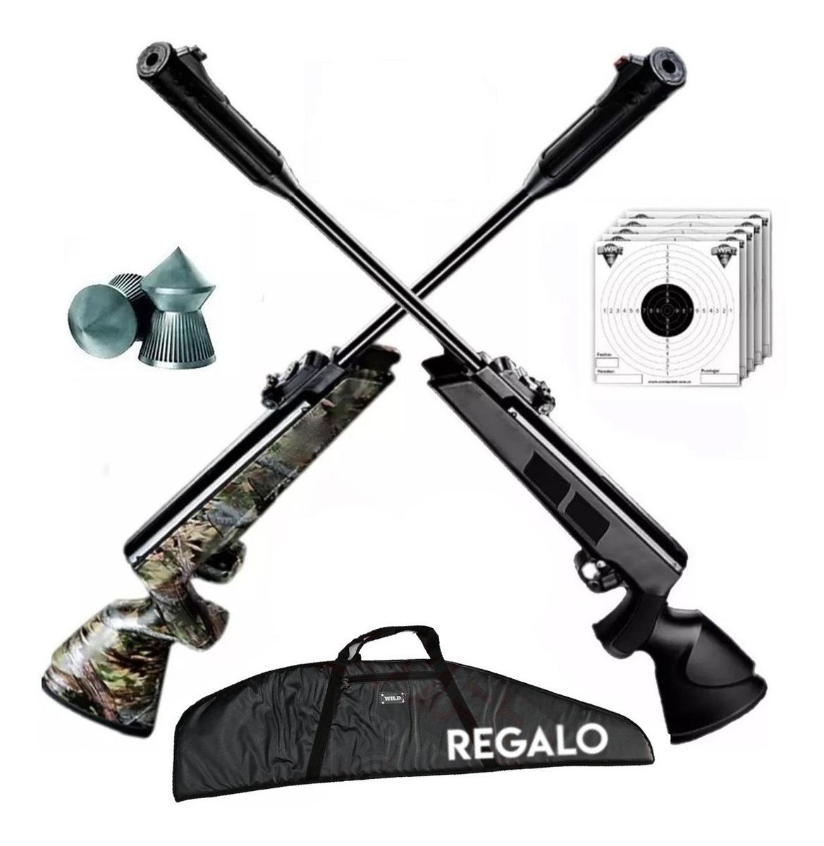 Rifle Aire Comprimido Swat Sr1000 Nitro Piston + Funda Lujo